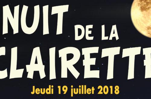NUIT DE LA CLAIRETTE